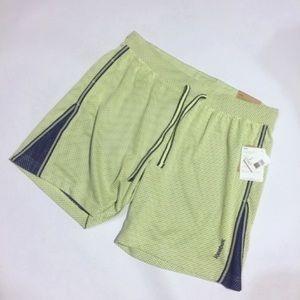NWT REEBOK mesh shorts reg fit drawstring